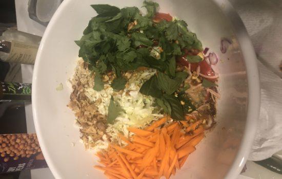 Burmese-Style Cabbage Salad (Thoke)